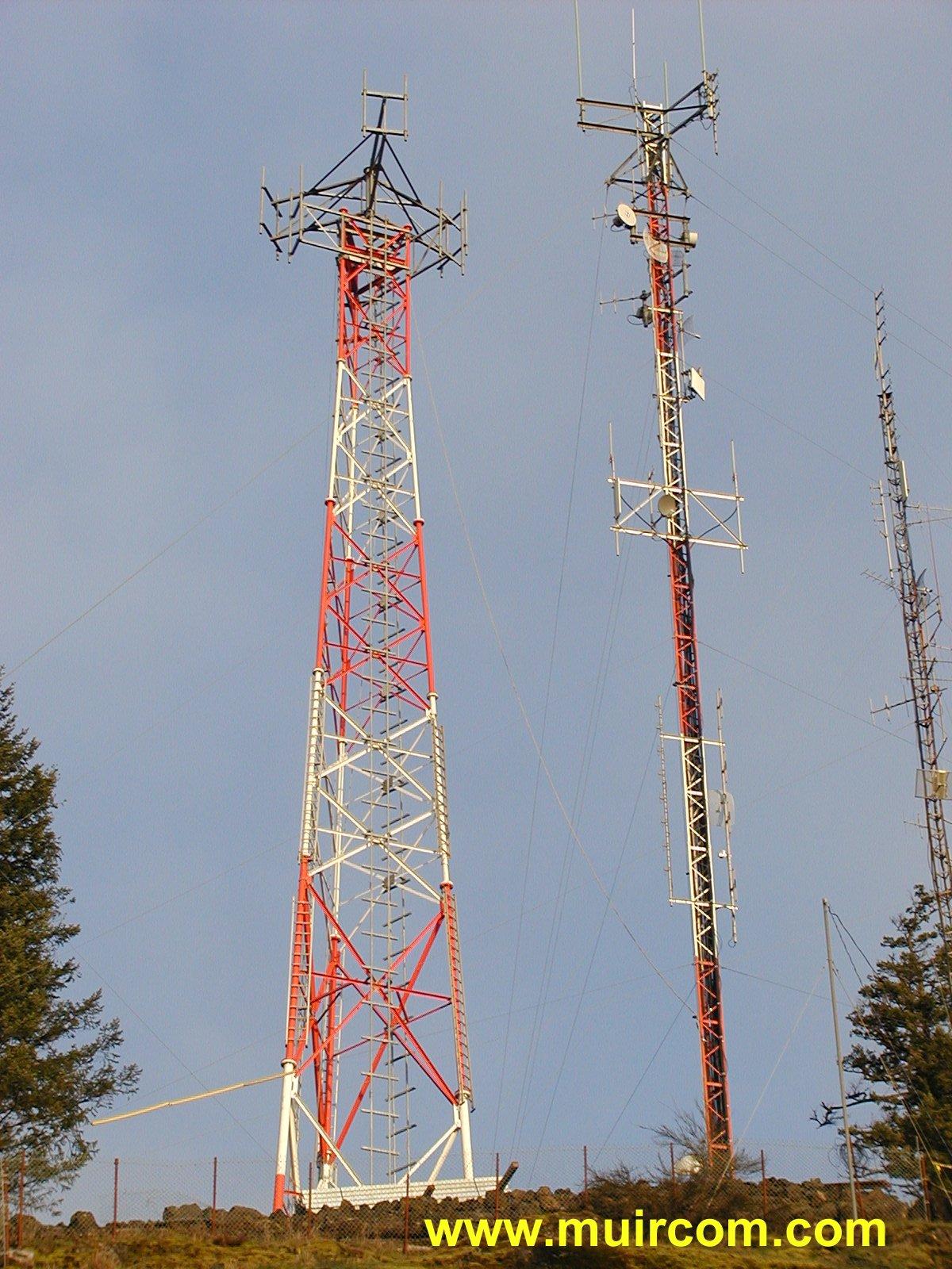 Muir Communications Ltd Victoria Bc Canada Radio Tower Site